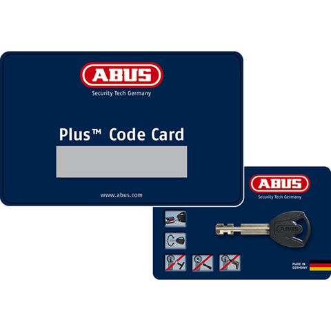 CHAIN LOCK MOTO ABUS STEEL-O-FLEX™ 950 BLACK