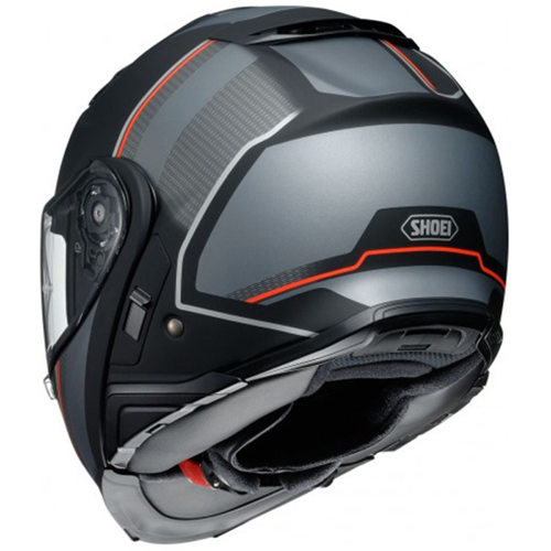 HELMET FLIP UP SHOEI NEOTEC II EXCURSION TC-5 MATTE BLACK/GREY