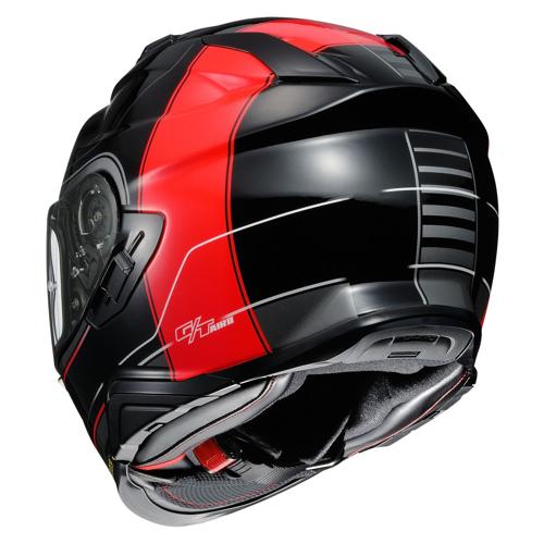 HELMET FULL FACE SHOEI GT-AIR II CROSSBAR TC-1 BLACK/RED