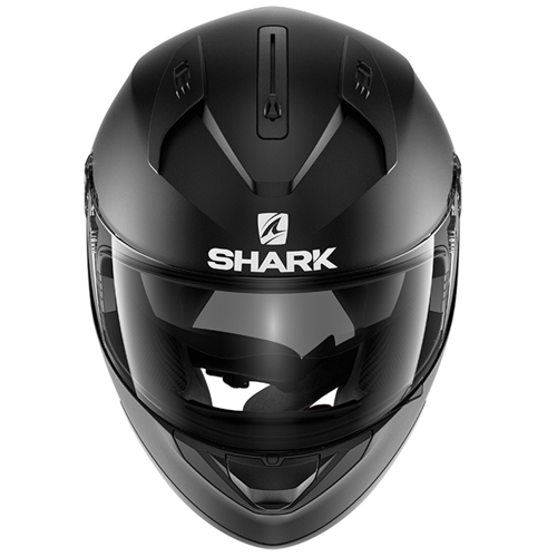 HELMET FULL FACE SHARK RIDILL BLANK BLACK MAT
