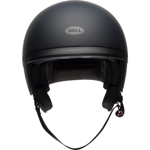 HELMET JET RETRO BELL SCOUT AIR BLACK MATT