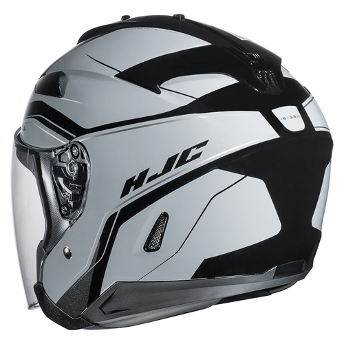 HELMET JET HJC IS-33 II KORBA MC-5 BLACK/GREY