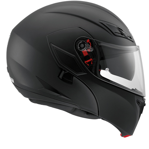 HELMET FLIP UP AGV COMPACT ST BLACK MATT