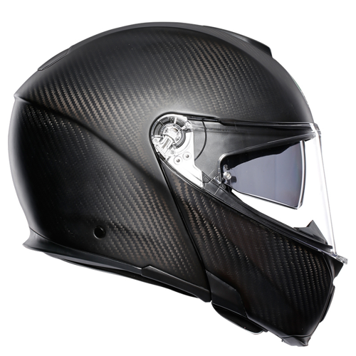 HELMET FLIP UP AGV SPORTMODULAR MATT CARBON