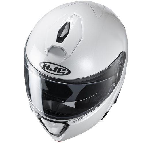 HELMET FLIP UP HJC I-90 PEARL WHITE