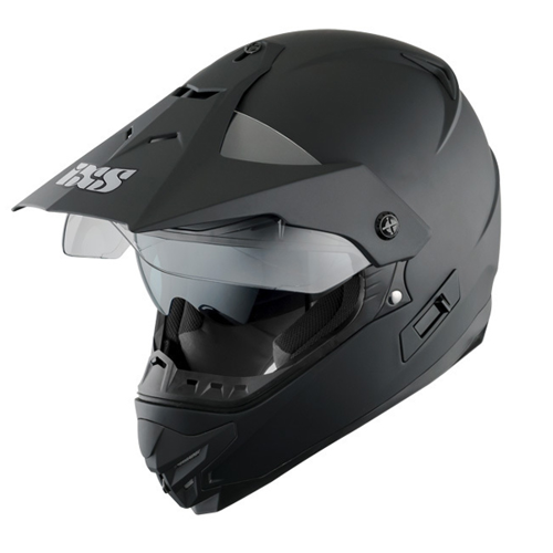 HELMET ON-OFF IXS HX207 BLACK MATT