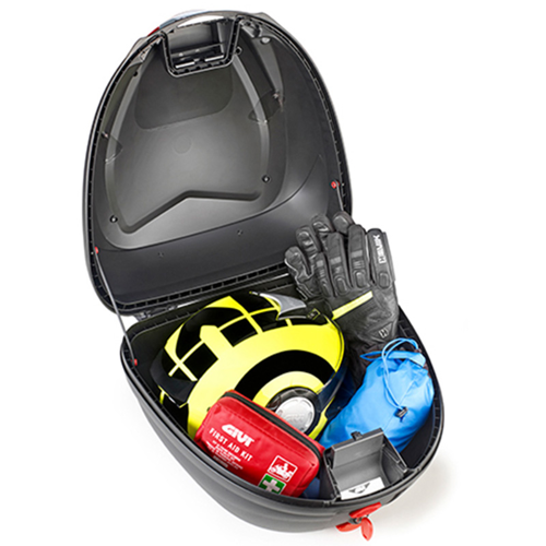 TOPCASE GIVI B330NT TECH MONOLOCK BLACK/FUME REFLECT