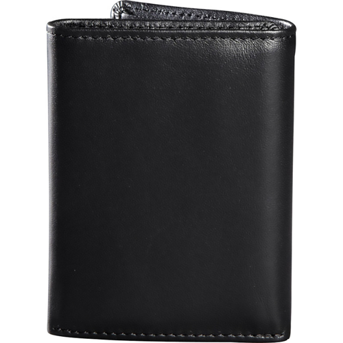 WALLET FOX RACING TRIFOLD LEATHER BLACK