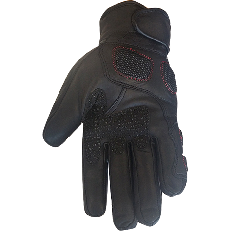 GLOVES LEATHER WP NORDCODE RACE WP BLACK