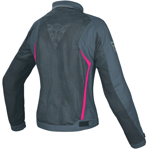 JACKET SUMMER WP DAINESE G. HYDRA FLUX D-DRY LADY BLACK/EBONY/FUCHSIA