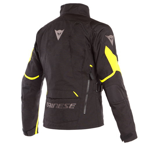 JACKET WINTER WP DAINESE TEMPEST 2 D-DRY LADY BLACK/BLACK/FLUO-YELLOW