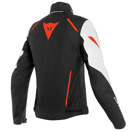 JACKET WINTER WP DAINESE LAGUNA SECA 3 LADY D-DRY WHITE/FLUO-RED/BLACK