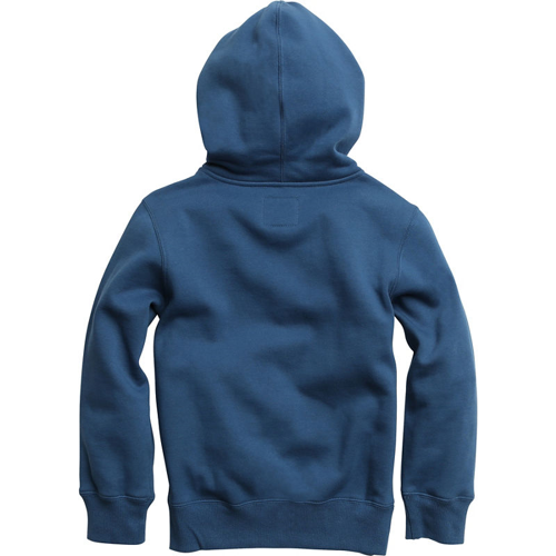 HOODY FOX RACING YOUTH LEGACY PULLOVER DUSTY BLUE