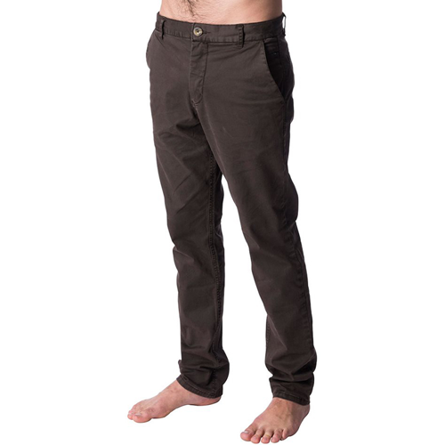 TROUSERS RIPCURL SAVAGE STRAIGHT CHINO BROWN