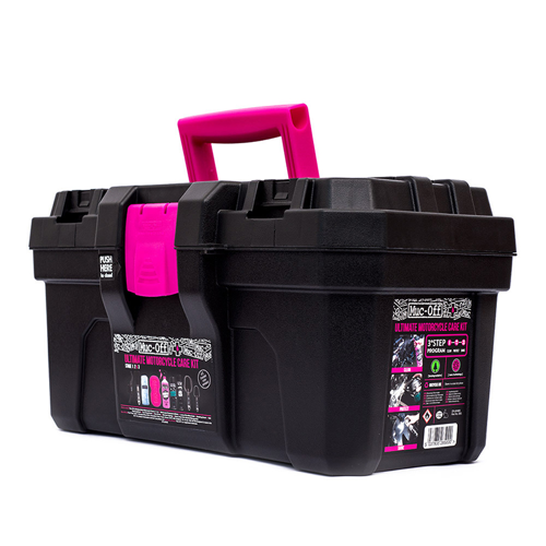 CLEANING KIT MUC-OFF ULTIMATE MOTORCYCLE CARE KIT PINK