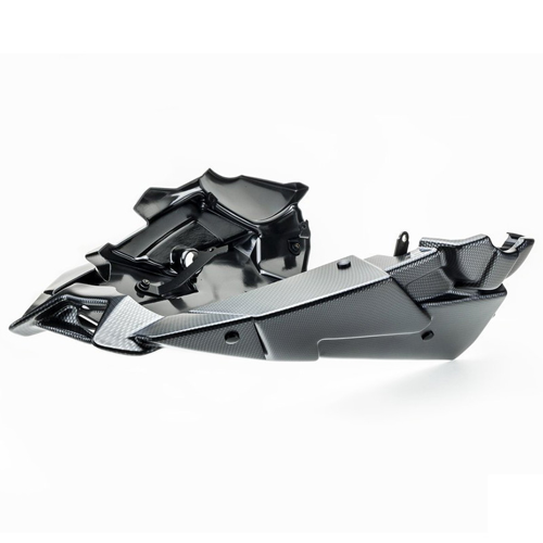 ENGINE COVER PUIG MT-09 14-16 STOCK EXHAUST CARBON