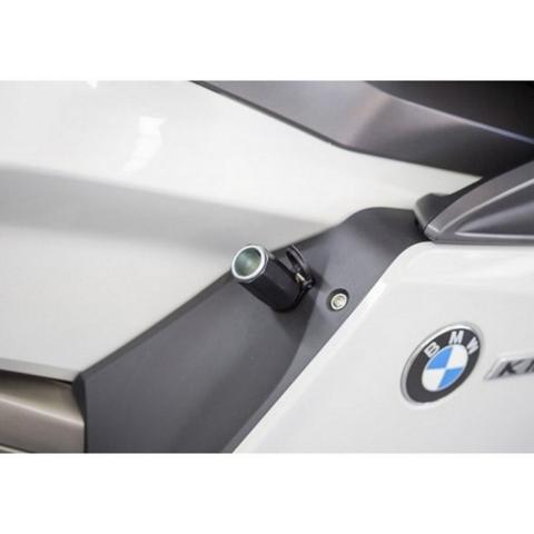 USB ADAPTER INTERPHONE PLUG BMW-TRIUMPH-KTM 12V INTERPHONE BLACK