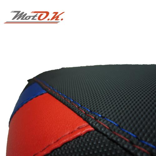 SEAT COVER MOTO.K K1200S/1300 S (05+) BLACK/RED/BLUE