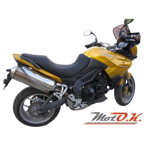 SEAT COVER MOTO.K TIGER 1050 06-12 GREY/BLACK