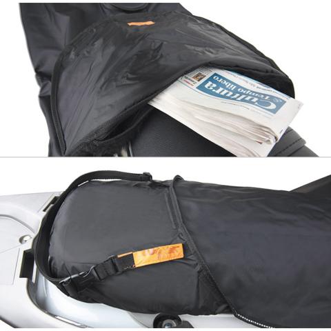LEG COVER TUCANO URBANO BEVERLY 125 ?OS 500/CRUISER (<2010) | TERMOSCUD R152CX BLACK