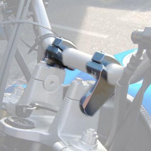 BAR CONVERTERS MOTO DISCOVERY BAR PIVOTING RISERS 50mm (??a t?µ???a 22+28 se 28mm) BLACK