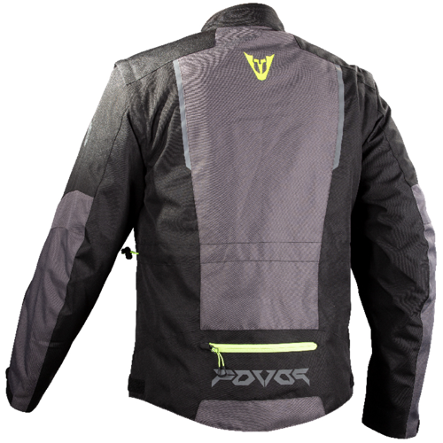 JACKET ENDURO FOVOS PINDOS BLACK/DARK GREY