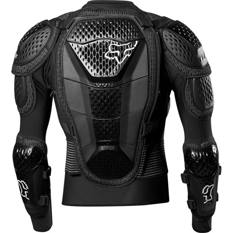 GUARD CHEST MX FOX RACING TITAN SPORT JACKET 20 BLACK