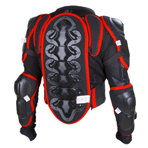 GUARD CHEST MX SHOT MX OPTIMAL BLACK/RED
