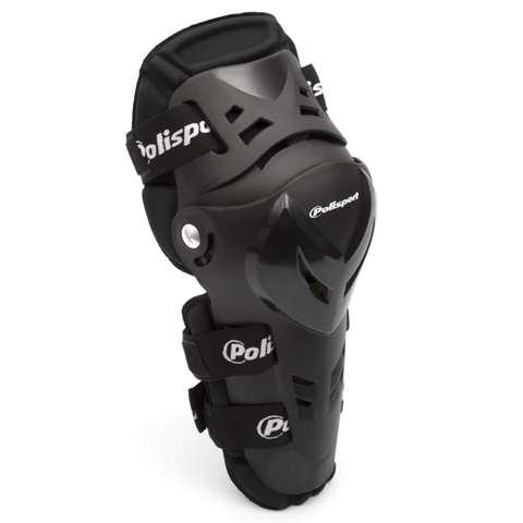 GUARDS KNEE POLISPORT DEVIL BLACK