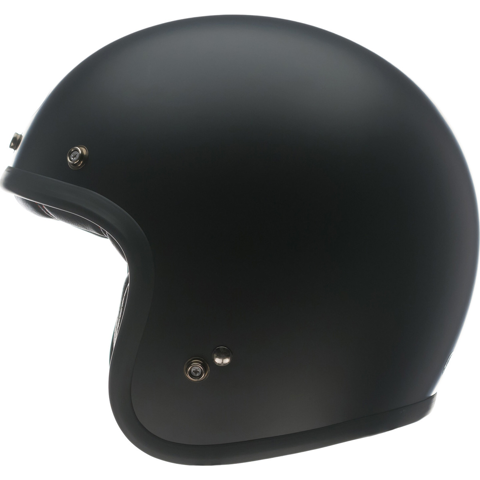 HELMET JET RETRO BELL CUSTOM 500 VINTAGE ROW BLACK MATT