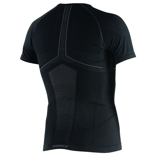 THERMAL TEE SS DAINESE D-CORE DRY TEE SS BLACK/ANTHRACITE