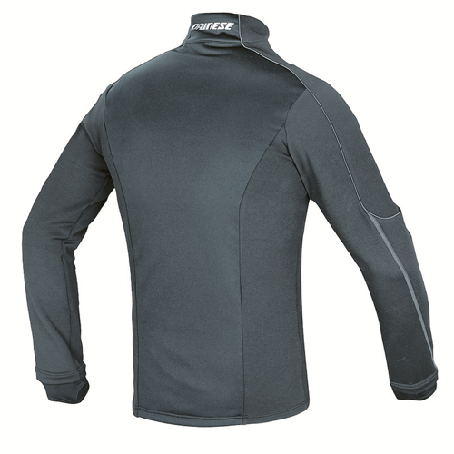 THERMAL TEE LS DAINESE D-MANTLE FLEECE WS BLACK/BLACK/ANTHRACITE