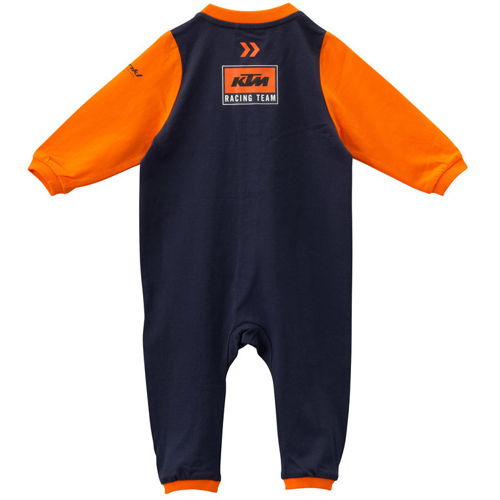FULL BODY KTM BABY REPLICA ROMPER SUIT ORANGE/BLACK