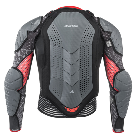 GUARD CHEST MX ACERBIS SCUDO CE 3.0 GREY