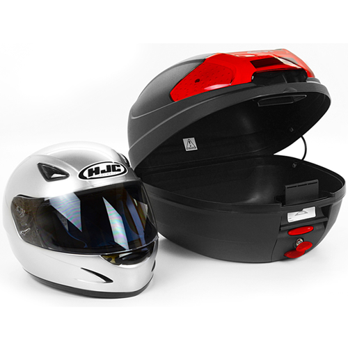 TOPCASE GIVI E300N2 BLACK/RED REFLECT