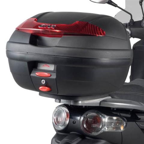 TOPCASE GIVI E340N BLACK/RED REFLECT