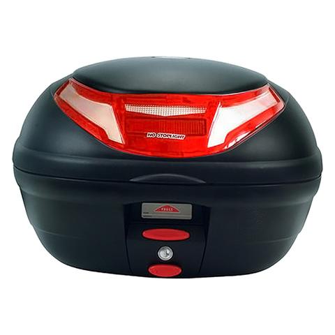 TOPCASE GIVI E350RNMALD FLOW Monolock BLACK/RED REFLECT