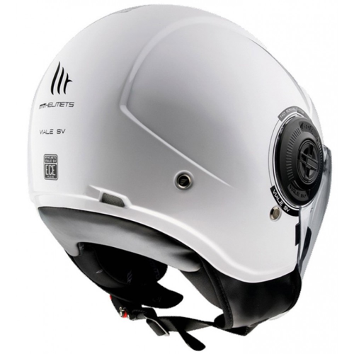 MT HELMETS VIALE SV ?????S A0 GLOSS PEARL WHITE