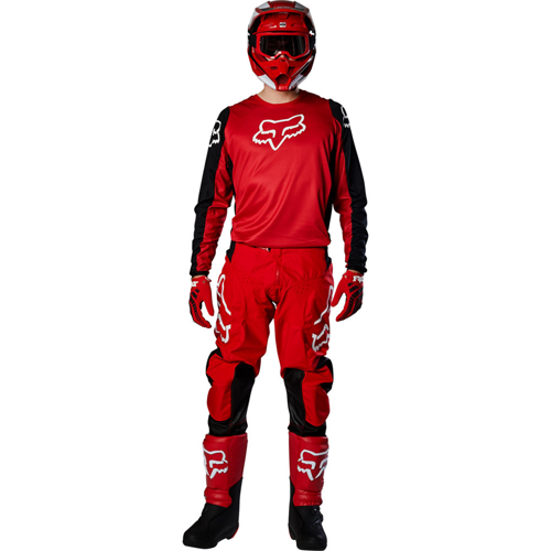 MX SUIT FOX RACING 180 PRIX | MX PANTS 23923-122 RED