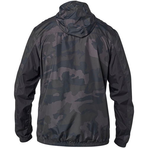 FOX MOTH CAMO WINDBREAKER BLACK CAMO