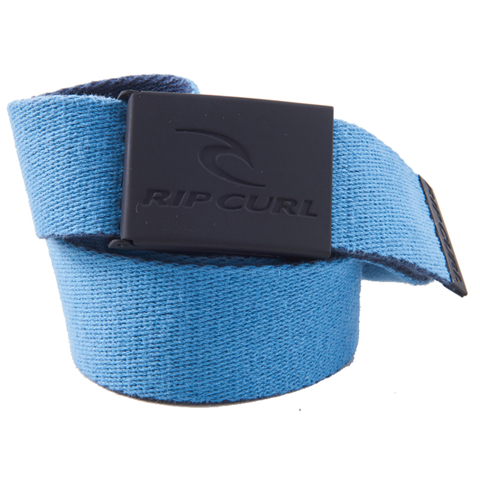 RIPCURL SNAP REVO WEBBED BELT BLACK/BLUE