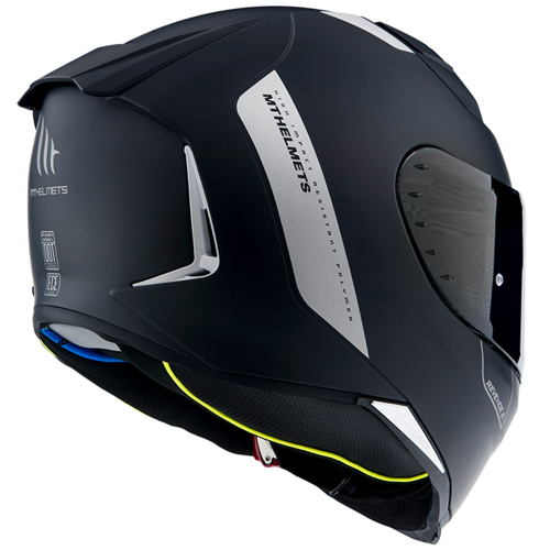 MT REVENGE 2 BLACK MATT HELMET FULL FACE