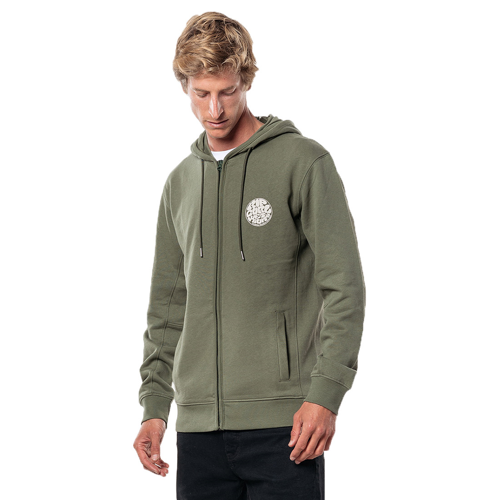 RIPCURL ORIGINAL WETTY FLEECE DARK OLIVE HOODY