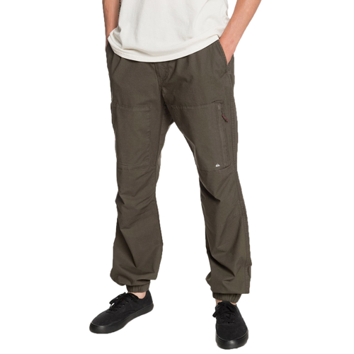 QUIKSILVER SEA BED FOREST NIGHT PANTS CARGO