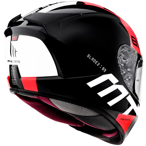 MT BLADE 2 SV B5 GLOSS PEARL RED HELMET FULL FACE