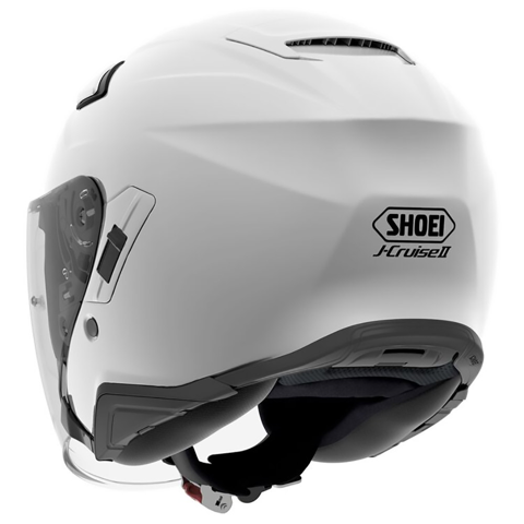 SHOEI J-CRUISE II WHITE HELMET JET