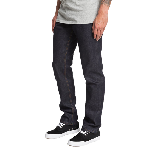 QUIKSILVER MODERN WAY RINSE BLUE TROUSERS DENIM