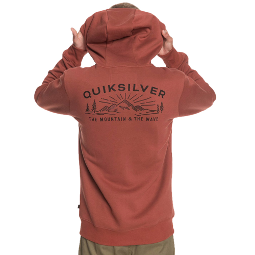 QUIKSILVER BEFORE LIGHT ZIP HOODY