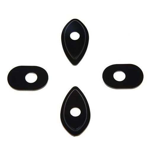 BARRACUDA HN6112 BLACK INDICATOR BASE ADAPTERS FOR HONDA