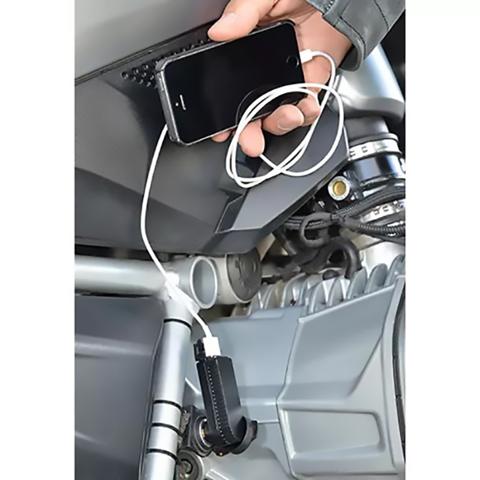 HORNIG USB4 12V DIN TO USB ADAPTER ANGLED